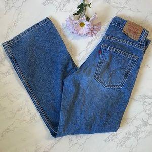 Levis 569 loose straight leg jeans 14 boys